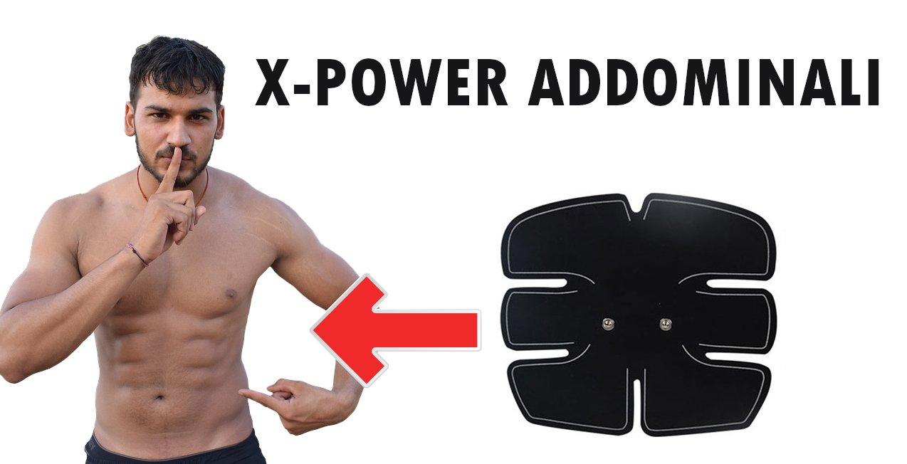 x power addominali recensione completa