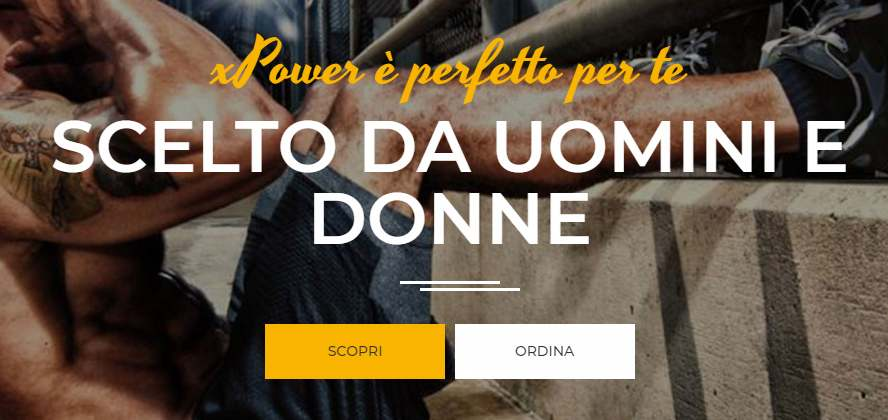 x power fascia addominale
