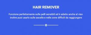 caratteristiche hair remover