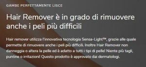 hair remover benefici