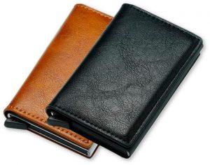 x wallet portafogli antifurto