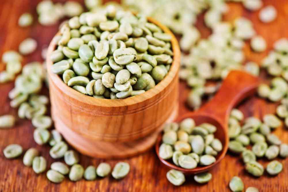 caffè verde proprietà e benefici