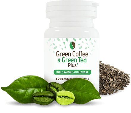 green coffe e green tea plus capsule