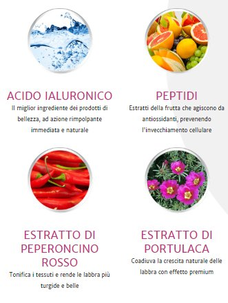 natulips ingredienti
