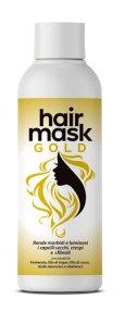 hair gold mask maschera per capelli
